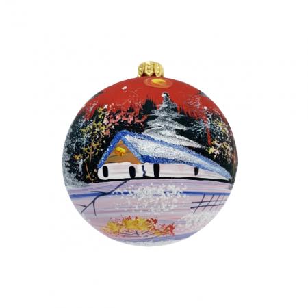 glob-din-sticla-suflata-si-pictata-manual-argcoms-fabrica-lui-mos-craciun-peisaj-de-iarna-multicolor-fond-rosu-80-mm-sferic [0]
