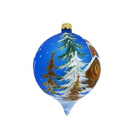 glob-din-sticla-suflata-si-pictata-manual-argcoms-fabrica-lui-mos-craciun-personalizabil-flori-de-gheata-turn-cu-ceas-multicolor-fond-albastru-80-mm-oval [1]