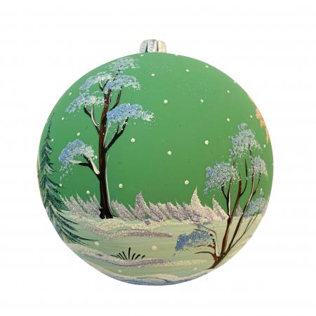 glob-din-sticla-suflata-si-pictata-manual-argcoms-fabrica-lui-mos-craciun-peisaj-de-iarna-multicolor-fond-verde-120-mm-sferic-6595-6597 [2]