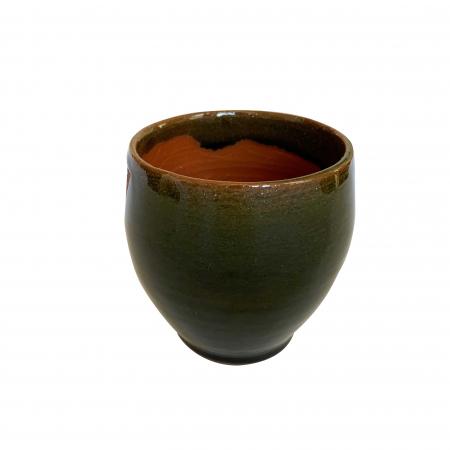 Pahar din ceramica de Arges realizat manual, Argcoms, Vin, Tema viticola2