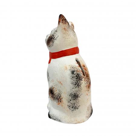 Pusculita din ceramica de Arges realizata manual, Argcoms, Pisicuta1