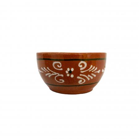 Sosiera din ceramica de Arges realizata manual, Argcoms, Pictura traditionala0