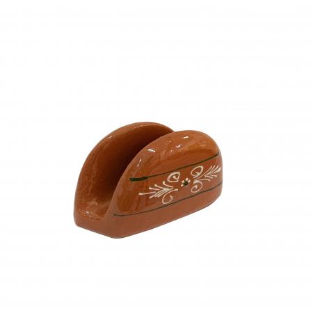 Suport din ceramica de Arges realizat manual, Argcoms, Servetele, Pictura traditionala1