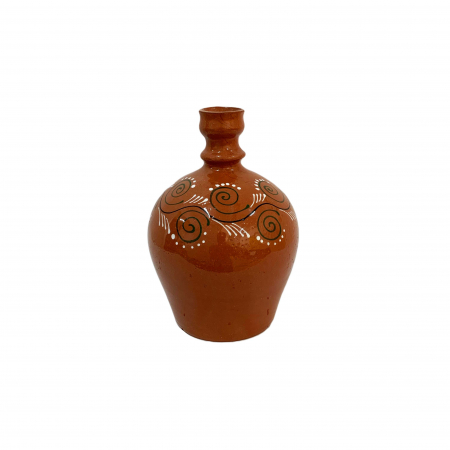 Ulcior din ceramica de Arges realizat manual, Argcoms, Ceremonie, Apa/Vin, Pictura traditionala (2), Mic2