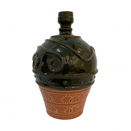 Ulcior din ceramica de Arges realizat manual, Argcoms, Nunta, Ornament zooform, Mare2