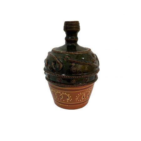 Ulcior din ceramica de Arges realizat manual, Argcoms, Nunta, Ornament zooform, Mediu2
