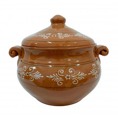 vas-din-ceramica-de-arges-realizat-manual-argcoms-produse-la-grătar-cu-capac-pictura-traditionala-mare-6514-6516 [0]