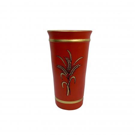 Vaza din ceramica de Arges realizata manual, Argcoms, Personalizabila, H253