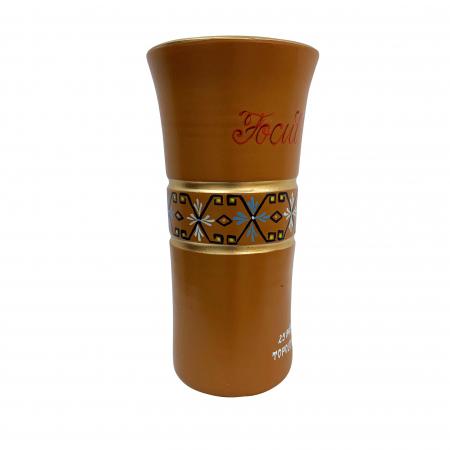 Vaza din ceramica de Arges realizata manual, Argcoms, Personalizabila, H351