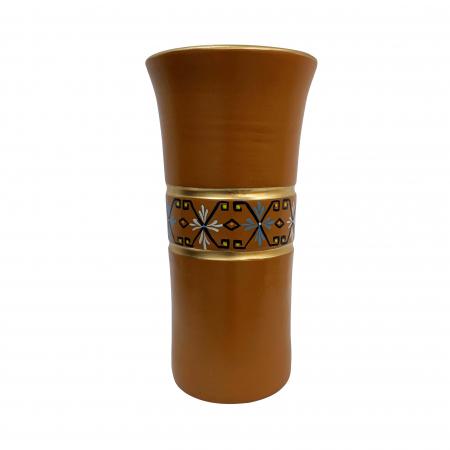 Vaza din ceramica de Arges realizata manual, Argcoms, Personalizabila, H353