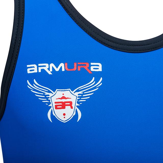 Dres de lupte ARMURA 2.0 Albastru [4]