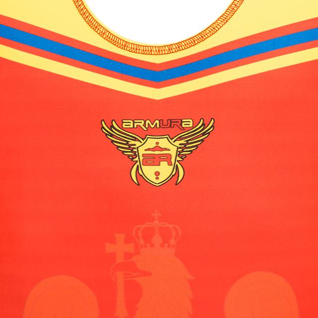 Dres de lupte ARMURA Tricolor V2 Rosu [1]