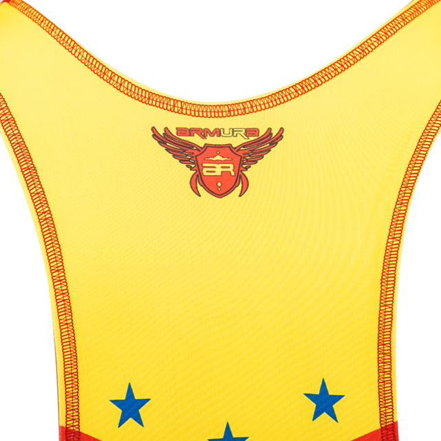 Dres de lupte ARMURA Tricolor V2 Rosu [7]