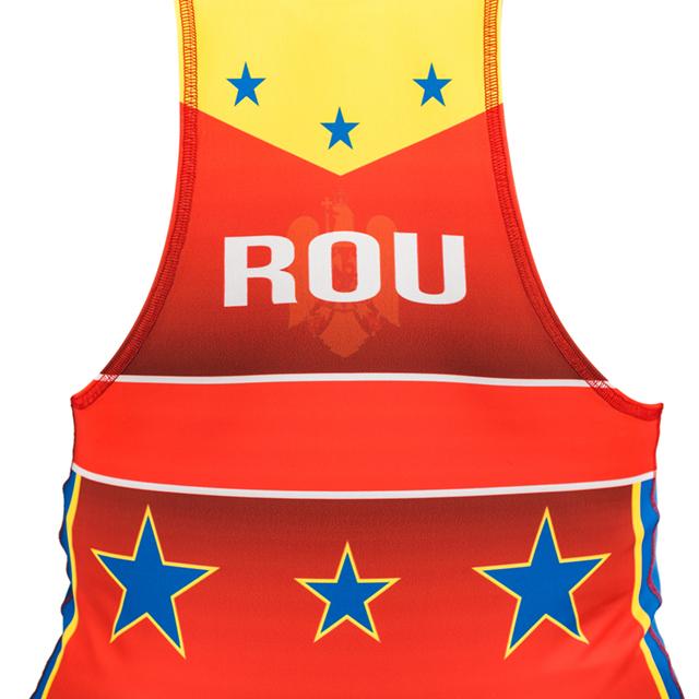 Dres de lupte ARMURA Tricolor V2 Rosu [5]