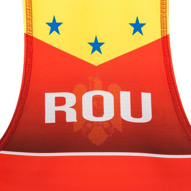 Dres de lupte ARMURA Tricolor V2 Rosu [6]