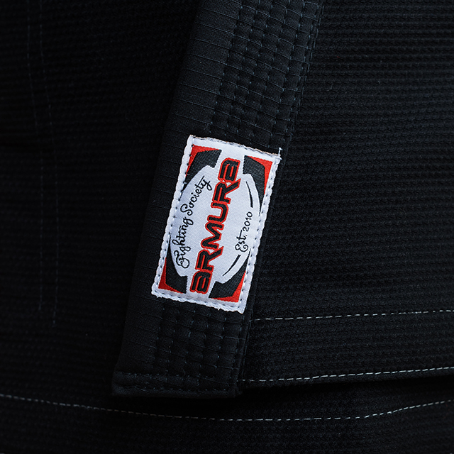 Kimono de BJJ ARMURA Praetorian 2.0 Negru [3]