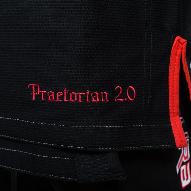Kimono de BJJ ARMURA Praetorian 2.0 Negru [2]
