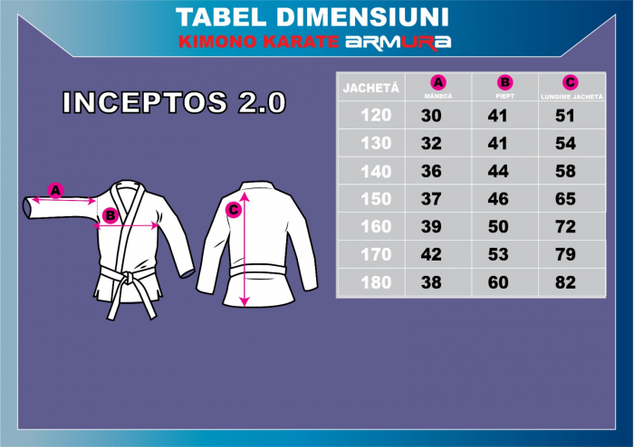 Kimono Karate ARMURA INCEPTOS 2.0 [7]