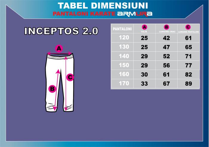 Kimono Karate ARMURA INCEPTOS 2.0 [8]