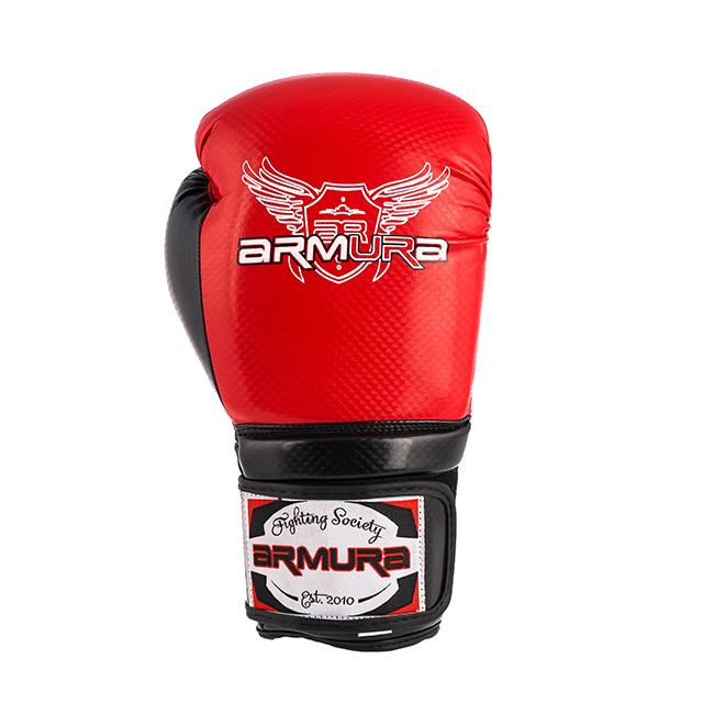 Manusi de Box ARMURA Decurion 3.0 Rosii/Negre [3]