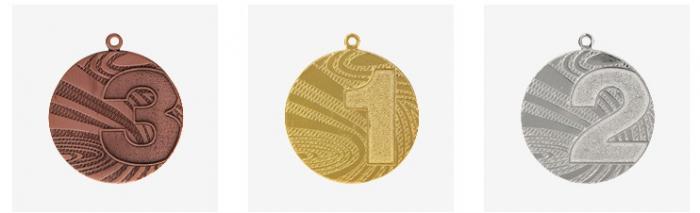 Medalie  loc1, 2, 3 - MMC6040 [0]