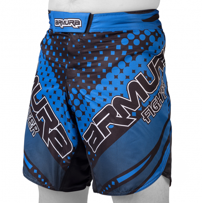 Sort de MMA Armura Fighter Albastru [0]