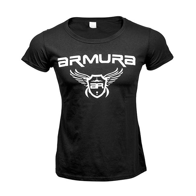 Tricou ARMURA Dama Negru [2]