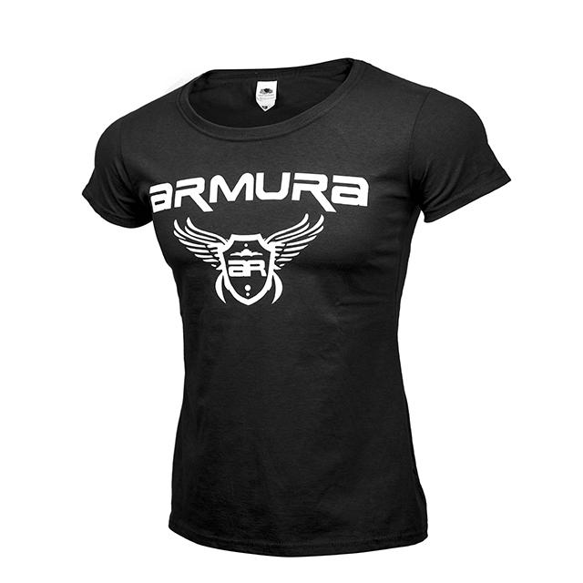 Tricou ARMURA Dama Negru [0]