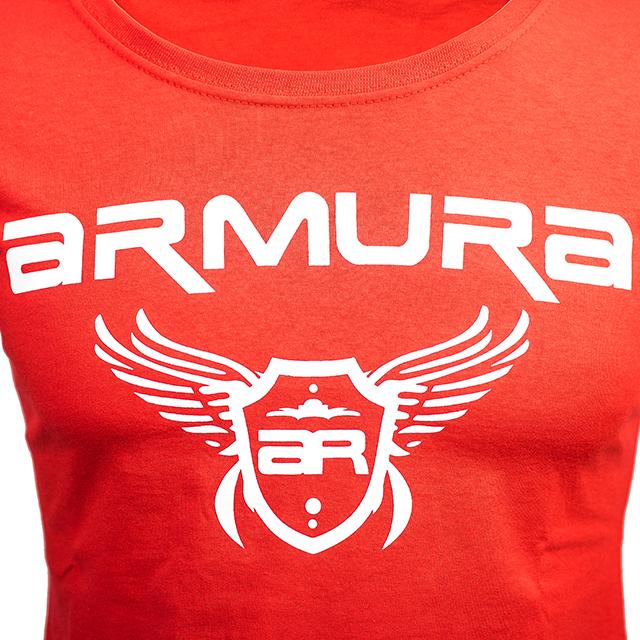 Tricou ARMURA Dama Rosu [1]