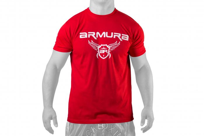 Tricou ARMURA Rosu [0]