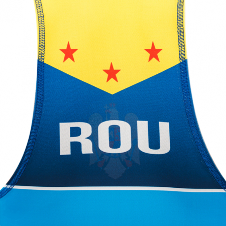 Dres de lupte ARMURA Tricolor V2 Albastru [6]