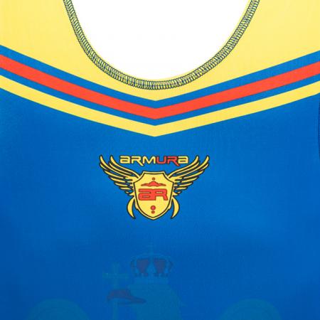 Dres de lupte ARMURA Tricolor V2 Albastru [1]