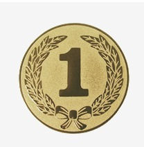 Emblema medalie locul 1 - 25mm/50mm