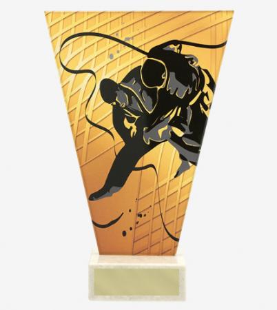 Figurina cu piedestal tematica Judo, C
