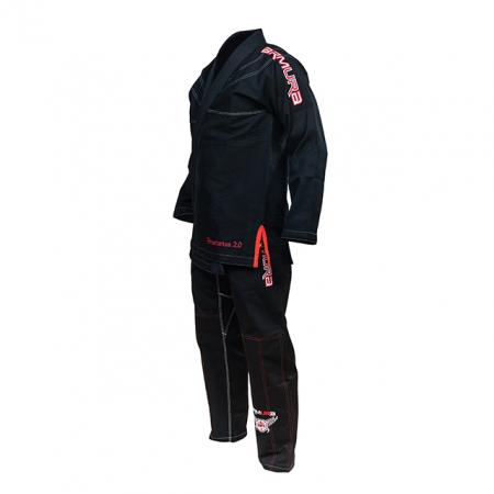 Kimono de BJJ ARMURA Praetorian 2.0 Negru [0]
