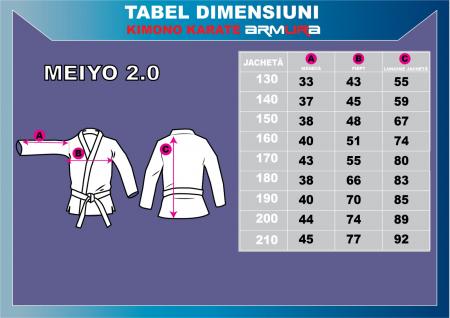 Kimono Karate ARMURA Meiyo 2.0 [7]