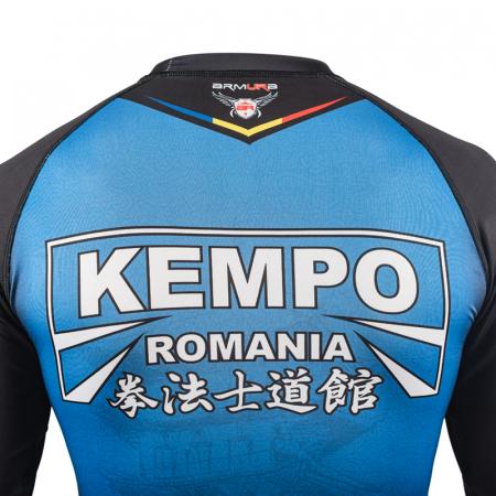 Rashguard ARMURA Kempo Albastru [3]