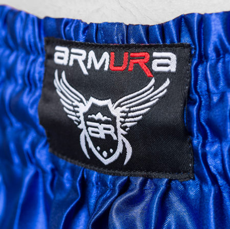 Short ARMURA Muay Albastru/Negru [2]