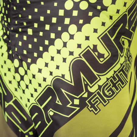 Sort de MMA Armura Fighter Verde [2]