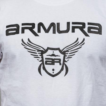 Tricou ARMURA Alb [3]