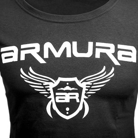 Tricou ARMURA Dama Negru [1]