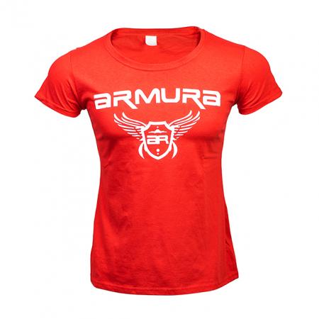 Tricou ARMURA Dama Rosu [2]