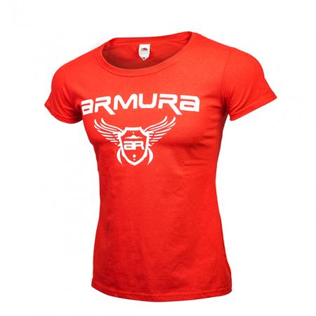 Tricou ARMURA Dama Rosu [0]