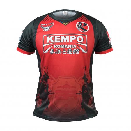 Tricou Armura Kempo Rosu [0]