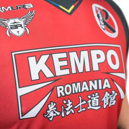 Tricou Armura Kempo Rosu [2]
