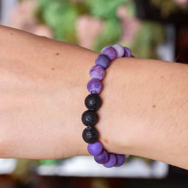 Brățară Aromaterapie - Violet Small 1