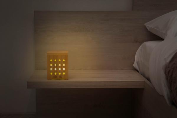 Difuzor de aromaterapie din bambus - Cube 3