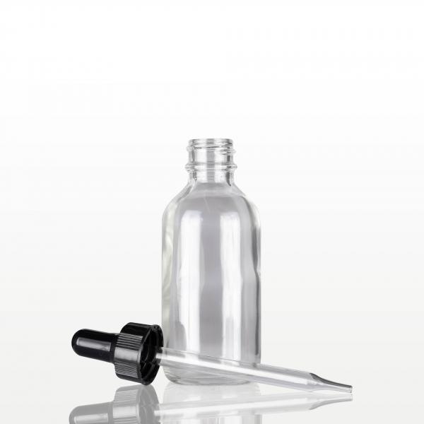 Flacon sticla cu pipeta neagra - 60 ml 1