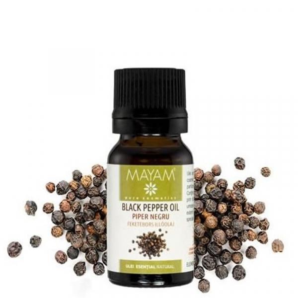 Mayam Piper negru - 10 ml 0