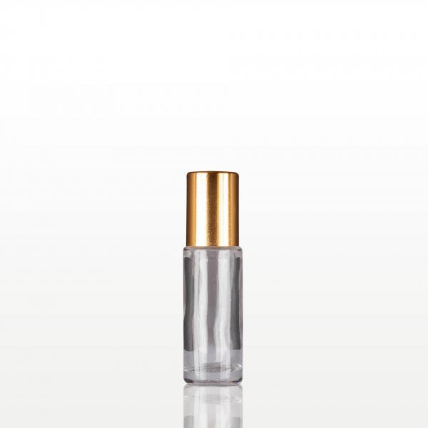 Roll-on sticla cu capac auriu - 5 ml 0